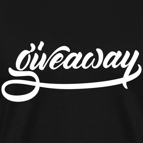 Giveaway - Men's Premium T-Shirt