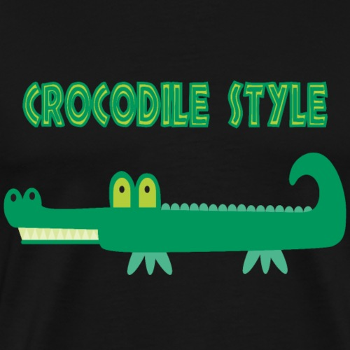 Crocodile Style - Men's Premium T-Shirt