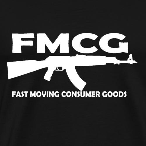 FMCG - fast moving consumer goods (white text) - Men's Premium T-Shirt