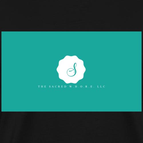 The Sacred W.H.O.R.E. LLC (Logo 6) - Men's Premium T-Shirt