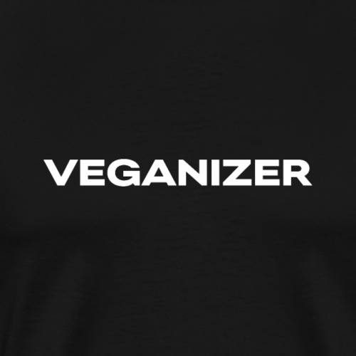 Veganizer vegan gift present - Men's Premium T-Shirt