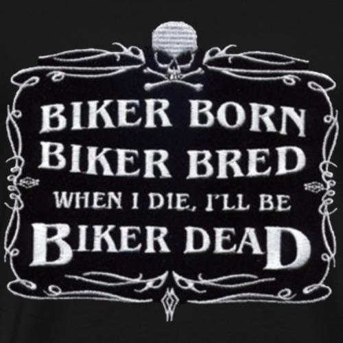Biker Born - Men's Premium T-Shirt