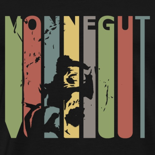 Retro Vonnegut - Men's Premium T-Shirt