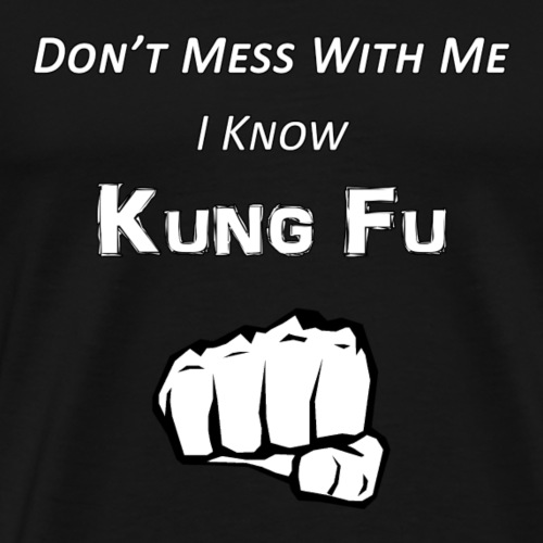 I Know Kung Fu - Men's Premium T-Shirt