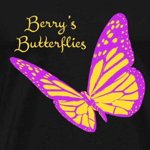 butterfly logo revised - Men's Premium T-Shirt