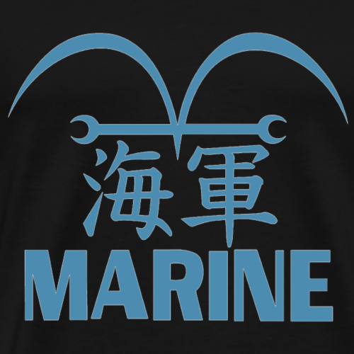 Marine Picture - Men's Premium T-Shirt