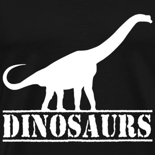 dinosaurs brachiosaurus sauropod - Men's Premium T-Shirt