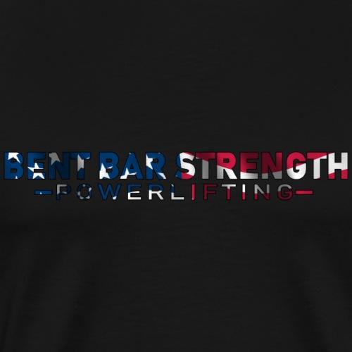 BBS Powerlifting Patriotic Shirt - Men's Premium T-Shirt