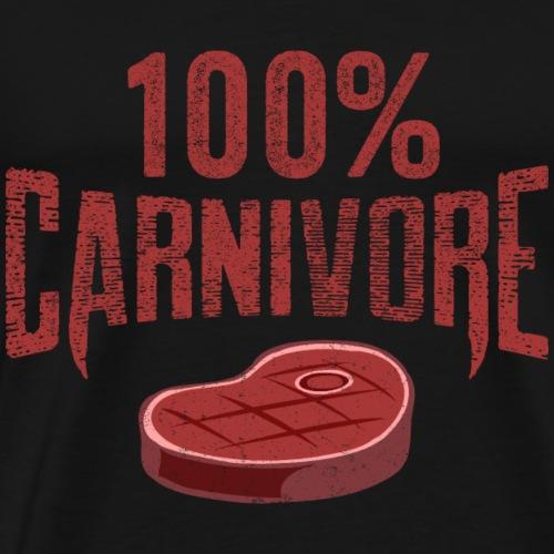 100% Carnivore - Men's Premium T-Shirt