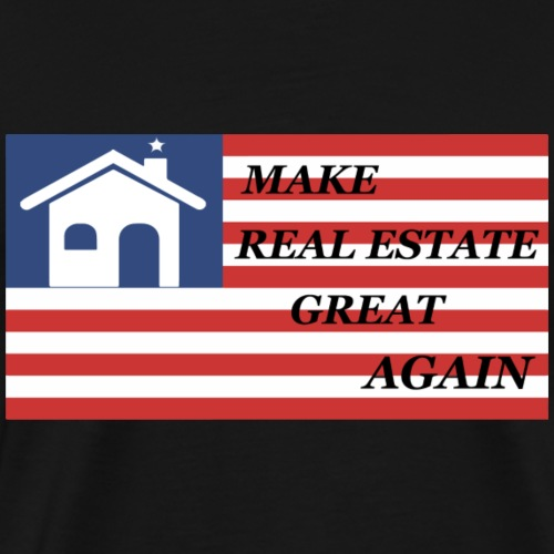 real estate great again - Men's Premium T-Shirt