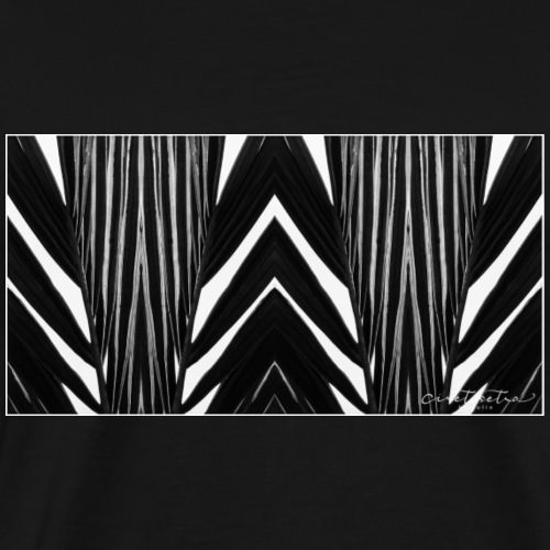 Palm Stripes - Men's Premium T-Shirt
