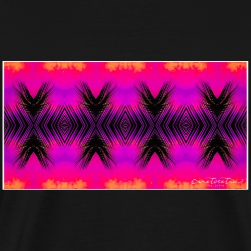Hot Pink Palms - Men's Premium T-Shirt