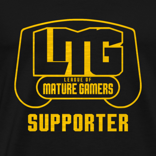LMG Block Logo Supporter Tshirt - Men's Premium T-Shirt