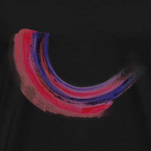 Watercolor Strokes - Men's Premium T-Shirt