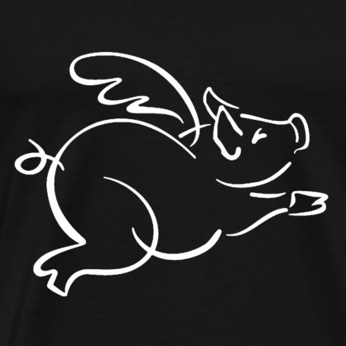 Flying Pig - Men's Premium T-Shirt