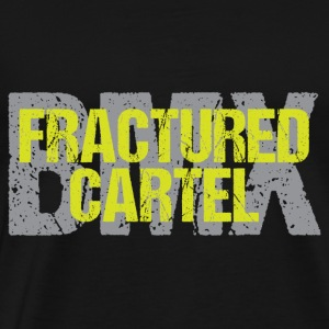 Fractured Cartel BMX HiVis & Grey - Men's Premium T-Shirt