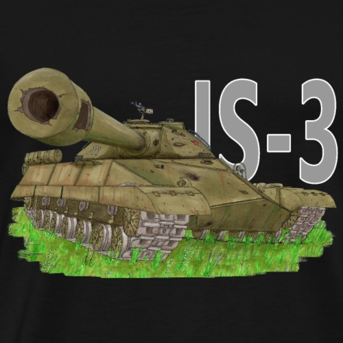 Is-3 (Writing) - Men's Premium T-Shirt