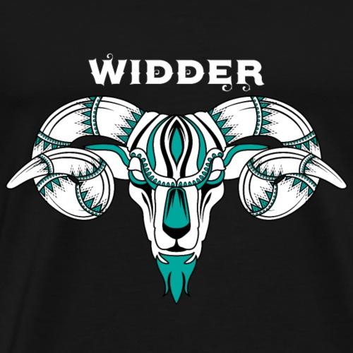 Sternzeichen - Widder - Men's Premium T-Shirt