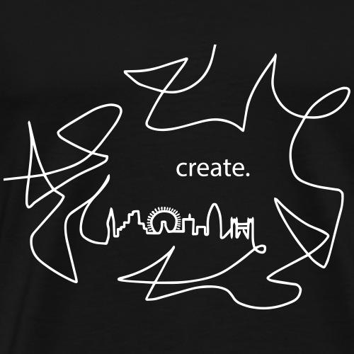 Skyline London create - Men's Premium T-Shirt