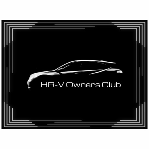HR-V Owner's Club (with border) - Men's Premium T-Shirt