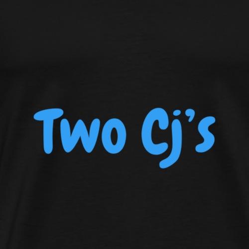 Two Cj's no logo - Men's Premium T-Shirt