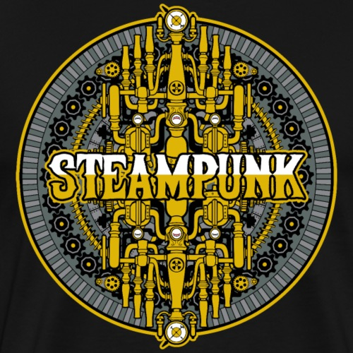 Steampunk Machine - Men's Premium T-Shirt