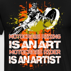 Motocross riding - Men's Premium T-Shirt