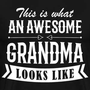 Awesome Grandma - Men's Premium T-Shirt