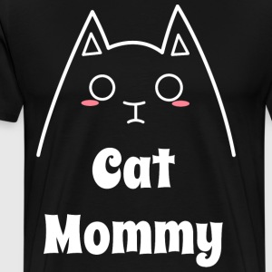 Love My Cat Mommy - Men's Premium T-Shirt