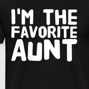 i'm the favorite aunt - Men's Premium T-Shirt