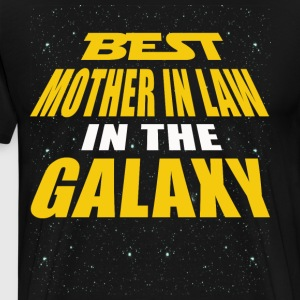 Best Mother In Law In The Galaxy - Men's Premium T-Shirt