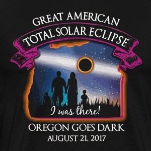 Oregon Total Solar Eclipse August 21 2017 - Men's Premium T-Shirt