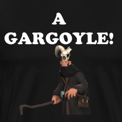 A Gargoyle! Black Merasmus Edition - Men's Premium T-Shirt