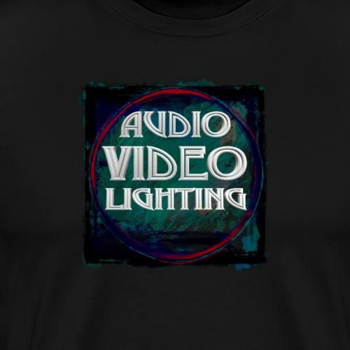 Audio Video Lighting New Graphic Design - Men's Premium T-Shirt