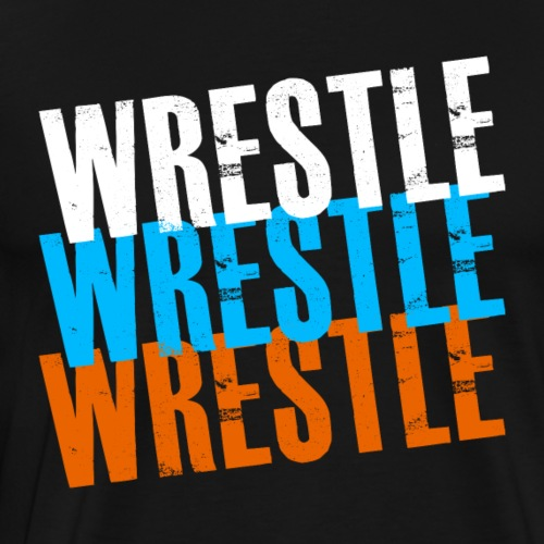 wrestle - Men's Premium T-Shirt