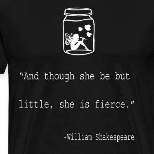 Literary Gift And Tho She Be Little Leo Tolstoy - Men's Premium T-Shirt
