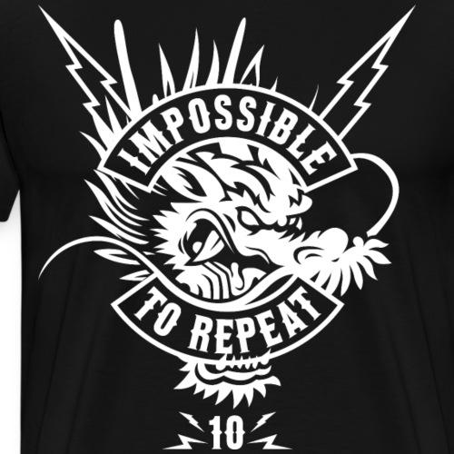 IMPOSSIBLE TO REPEAT V4 - Men's Premium T-Shirt