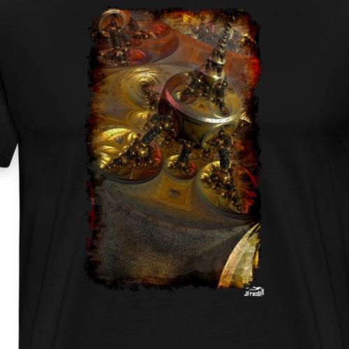 Muta v13, Paris Tower - Men's Premium T-Shirt