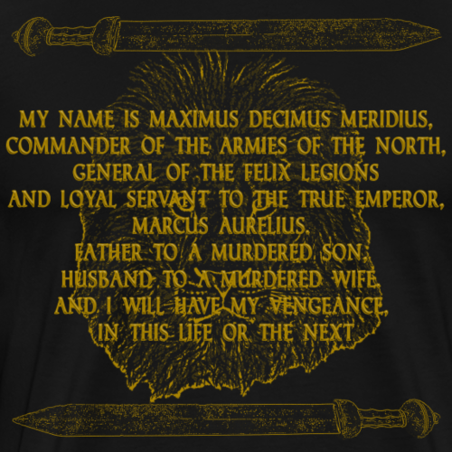 Maximus gold - Men's Premium T-Shirt