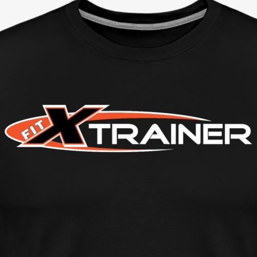 FITx Trainer 001 - Orange - Men's Premium T-Shirt