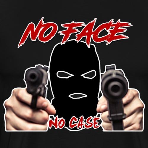 No Face No Case - Men's Premium T-Shirt