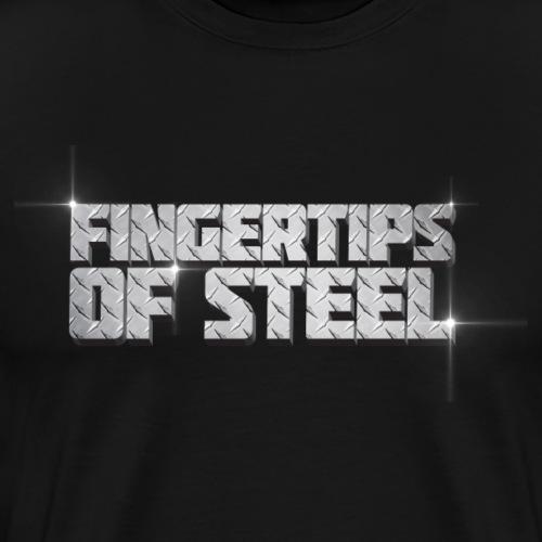Fingertips of Steel - Men's Premium T-Shirt