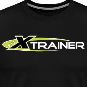 FITx Trainer 001 - Green - Men's Premium T-Shirt
