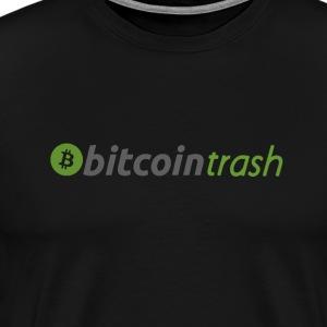 BITCOIN TRASH - BCASH - BITCOIN CASH - Men's Premium T-Shirt