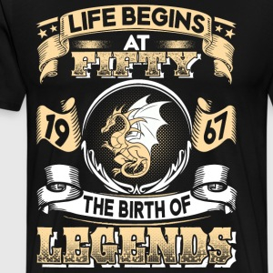 1967 - 50 years - Legends - 2017 – EN - Men's Premium T-Shirt