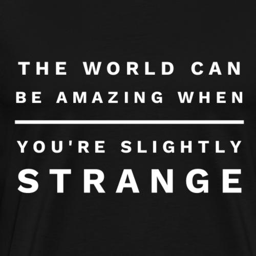 The World Can Be Amazing - Men's Premium T-Shirt