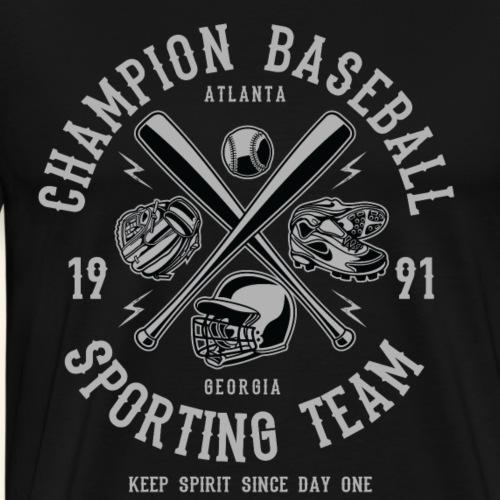 Champion Baseball Sporting Team - Men's Premium T-Shirt