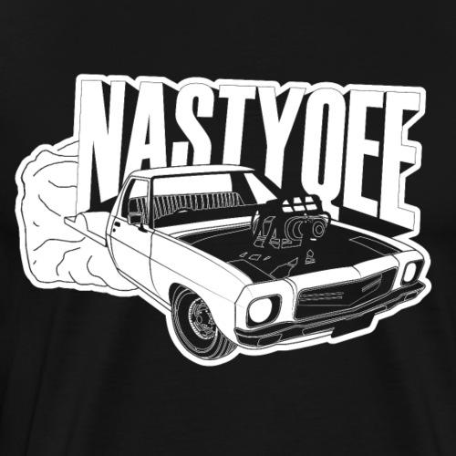 NASTYQEE - Blown HQ One Tonner SBC Burnout Car - Men's Premium T-Shirt
