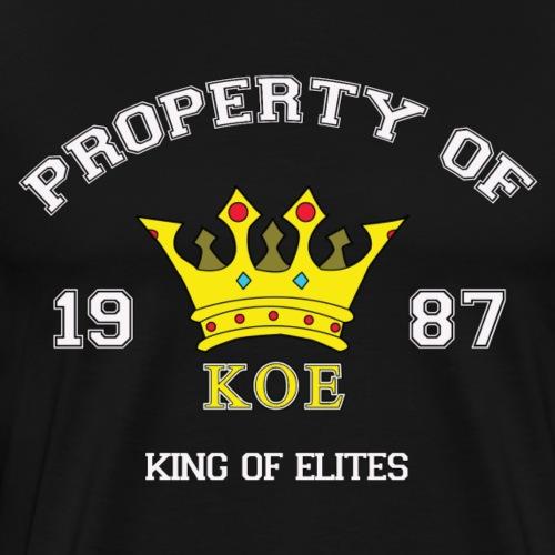 Property Of Elites - Men's Premium T-Shirt