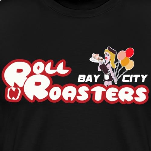 Roll N Roasters Logo - Men's Premium T-Shirt